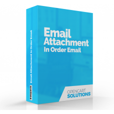 Email Attachment in order email | 2.x