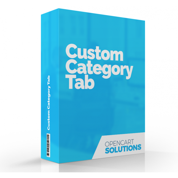 Custom Category Tab | OC2.x