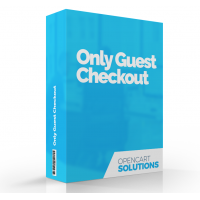 Only Guest Checkout | OC2-3.x
