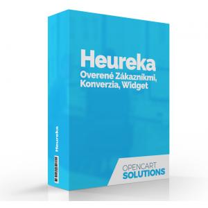 Heureka Dual - Overené zákazníkmi, GDPR, Konverzia, Widget, OC3.x