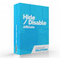 Hide / Disable Affiliate | OC2.x