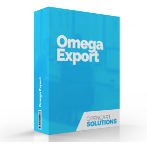 Export objednávok pre Omega | OC 2.x