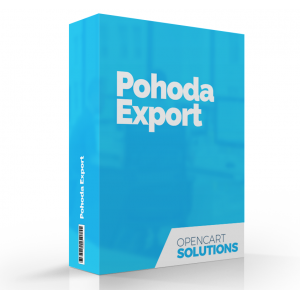 Export objednávok pre POHODA | OC 1.5.x