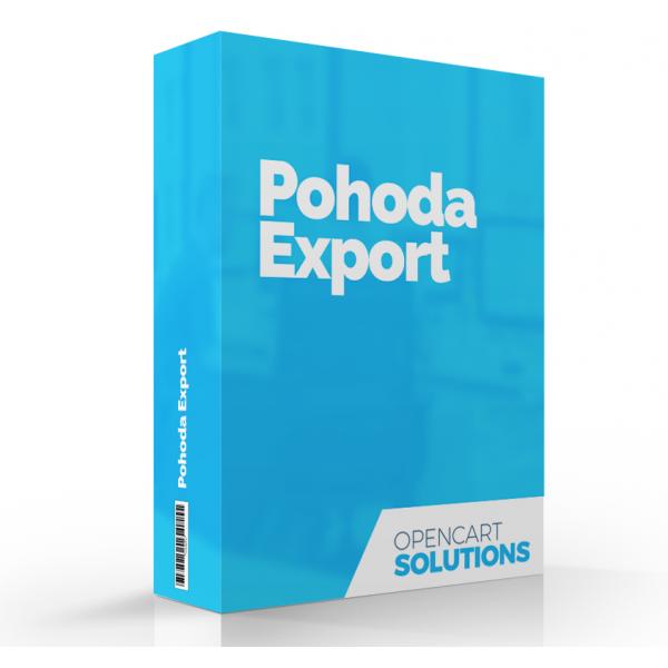 Export objednávok pre POHODA | OC 3.x